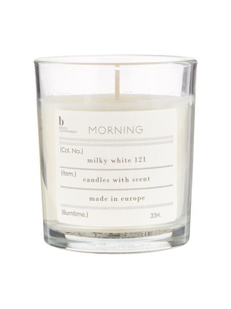 Świeca zapachowa Morning (grejpfrut), Naturalny wosk sojowy, szkło, Transparentny, Ø 8 x W 8 cm