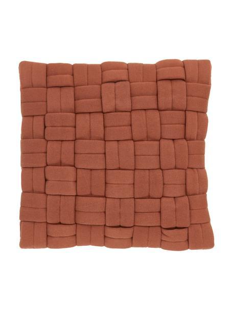 Poszewka na poduszkę Norman, Brązowy, S 40 x D 40 cm
