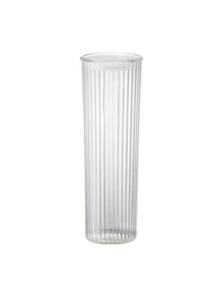 Barattolo trasparente in materiale sintetico Fonte, Materiale sintetico (PMS), Trasparente, Ø 11 x Alt. 31 cm