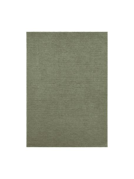 Vloerkleed Supersoft, 100% polyester, Mosgroen, B 200 x L 290 cm (maat L)