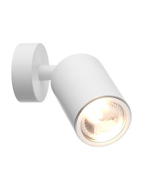 Faretto da parete o soffitto Tori, Paralume: alluminio rivestito, Bianco, Ø 6 x Alt. 13 cm