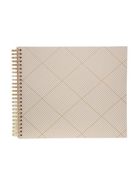 Albúm de fotos Picture, Dorado, blanco, An 35 x Al 32 cm