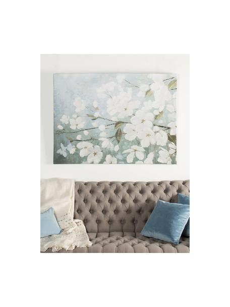 Impresión sobre lienzo Primavera, Multicolor, An 125 x Al 90 cm