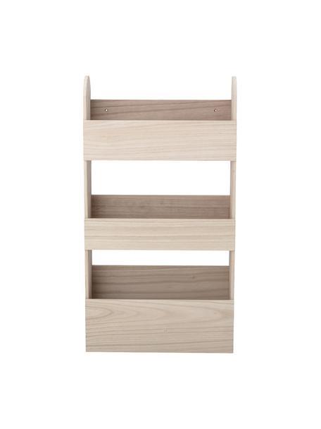 Estantería de madera de Paulownia Moris, Madera de Paulownia, Marrón, An 38 x Al 70 cm