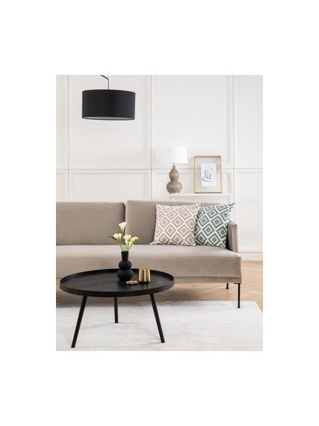 Poszewka na poduszkę Miami, 100% bawełna, Beżowy, S 45 x D 45 cm