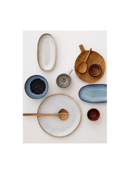 Boles artesanales de gres Sandrine, 6uds., Gres, Azul, Ø 15 x Al 8 cm