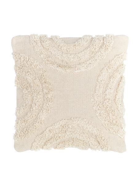 Funda de cojín Yara, 100%algodón, Crudo, Cama 180/200 cm (270 x 280 cm)
