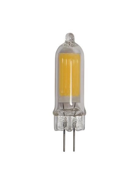 G4 peertje, 1.8 watt, warmwit, 1 stuk, Lampenkap: glas, Fitting: aluminium, Transparant, Ø 1 x H 5 cm