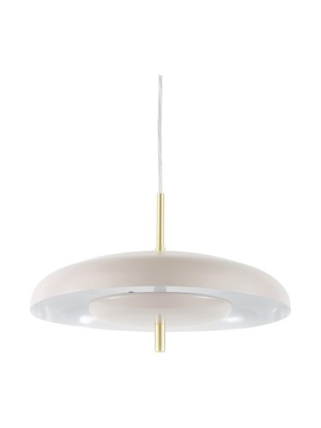 Lampa wisząca Mathea, Taupe, Ø 38 x W 8 cm
