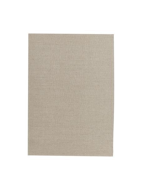 Paño de cocina de lino Heddie, 100%lino, Beige, An 50 x L 70 cm