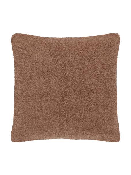 Poszewka na poduszkę Teddy Mille, Brązowy, S 45 x D 45 cm
