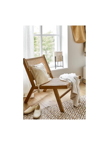 Handgefertigter Jute-Teppich Ramos, 100% Jute, Beige, B 80 x L 150 cm (Grösse XS)