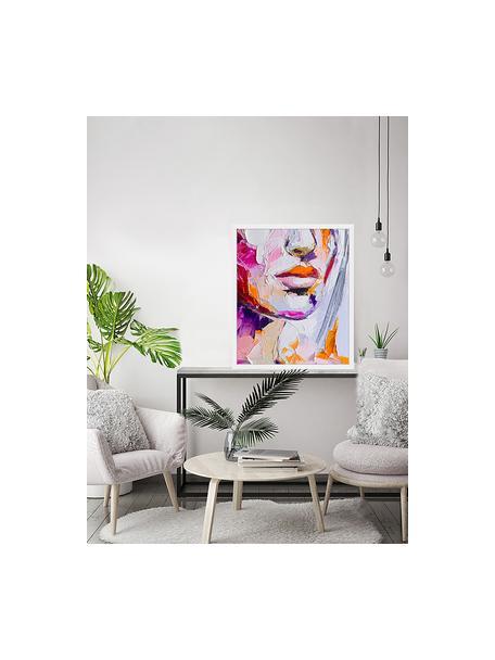Ingelijste digitale print Cranberry In Sugar, Afbeelding: digitale print op papier,, Lijst: gelakt hout, Multicolour, 53 x 63 cm