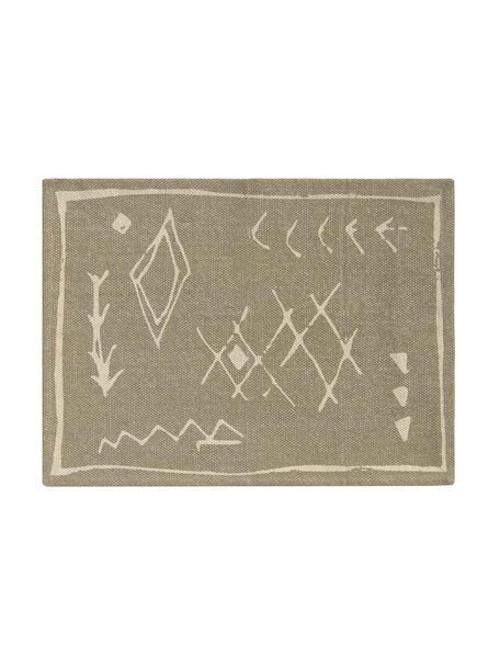 Podkładka z bawełny Kasba, 100% bawełna, Beżowy, kremowy, S 40 x D 55 cm
