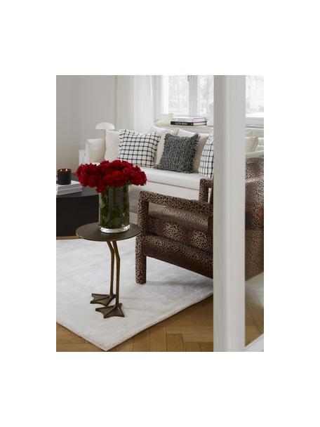 Schimmernder Viskoseteppich Grace in Premium-Qualität, extra weich, Flor: 100% Viskose, Cremeweiß, B 80 x L 150 cm (Größe XS)