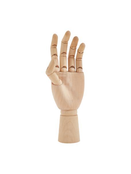 Dekoracja Hand, Żółtak, Jasny brązowy, S 7 x W 25 cm