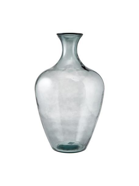 Jarrón de suelo Beryl, Vidrio, Gris, Ø 40 x Al 65 cm