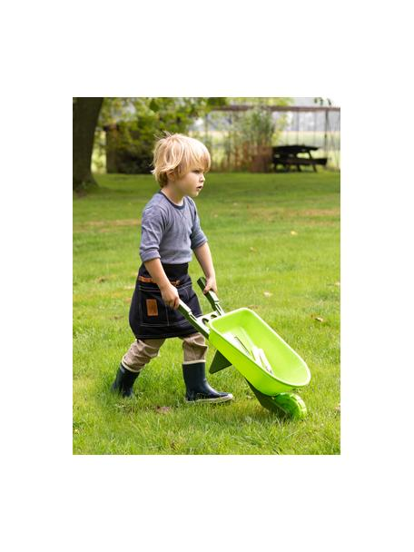 Taczka dla dzieci Little Gardener, Tworzywo sztuczne (PP), Odcienie zielonego, S 66 x W 20 cm