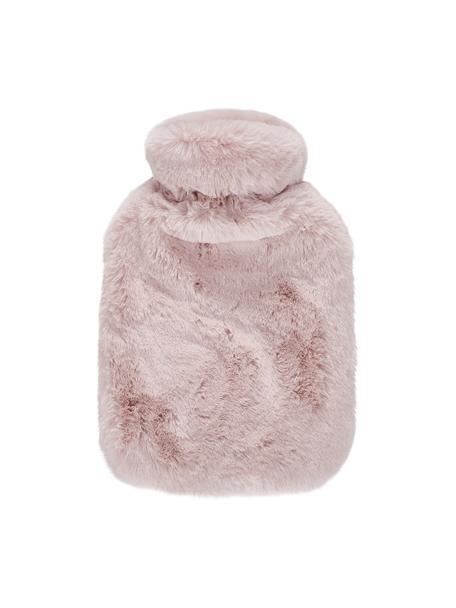 Termofor ze sztucznym futrem Mette, Tapicerka: 100% poliester, Blady różowy, S 23 x D 35 cm