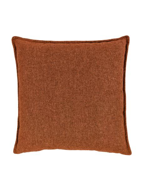 Cojín para sofá Lennon, Tapizado: 100%poliéster, Terracota, An 60 x L 60 cm