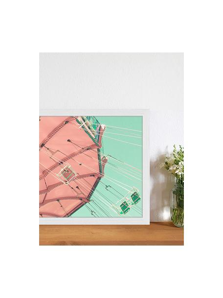 Gerahmter Digitaldruck Carnival Fun, Bild: Digitaldruck auf Papier, , Rahmen: Holz, lackiert, Front: Plexiglas, Mehrfarbig, 43 x 33 cm