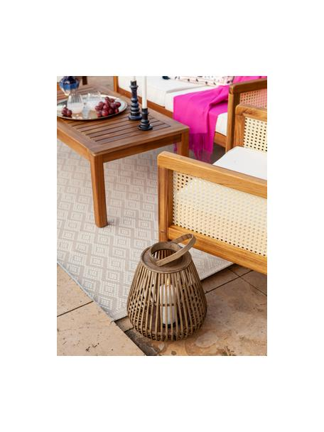 In- & Outdoor-Teppich Capri in Beige/Creme, 86% Polypropylen, 14% Polyester, Cremeweiß, Beige, B 80 x L 150 cm (Größe XS)