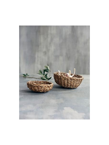 Set 2 cestini per pane in fibra naturale Tango, Fibra naturale, Beige, Set in varie misure