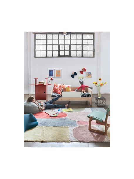 Alfombra lavable de lana Woolable Abstra, Parte superior: 100%lana, Reverso: algodón reciclado Las alf, Multicolor, An 170 x L 240 cm (Tamaño M)