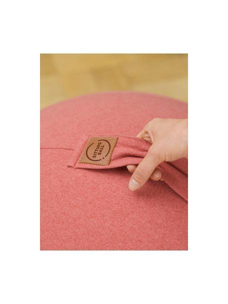 Sitzball Felt mit Tragegriff, Bezug: Polyester (Kunstleder), Lachsfarben, Ø 65 cm