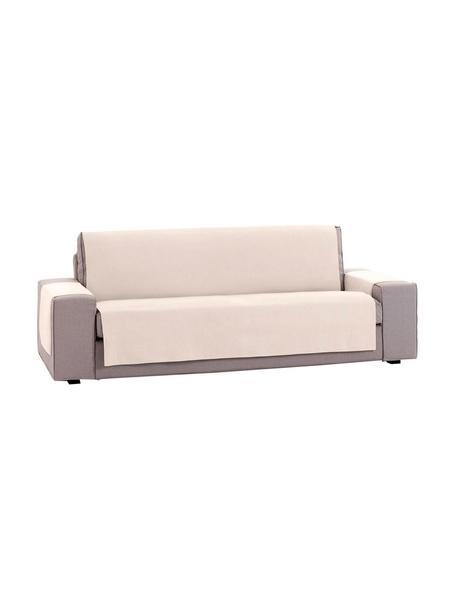 Narzuta na sofę Levante, 65% bawełna, 35% poliester, Beżowy, S 190 x D 220 cm