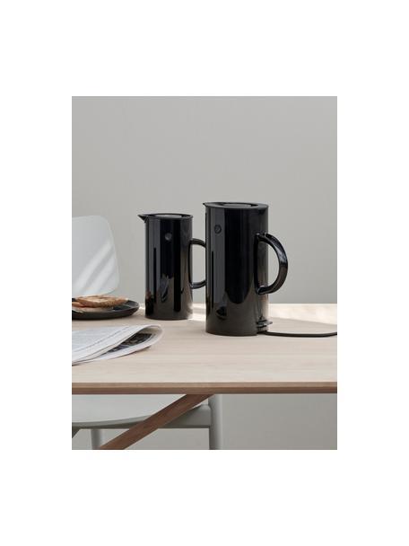 Hervidor EM77, Estructura: metal recubierto, Negro, 1,5 L