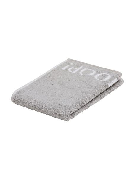 Asciugamano per ospiti Classic Doubleface 3 pz, Grigio argento, bianco, Larg. 30 x Lung. 50 cm
