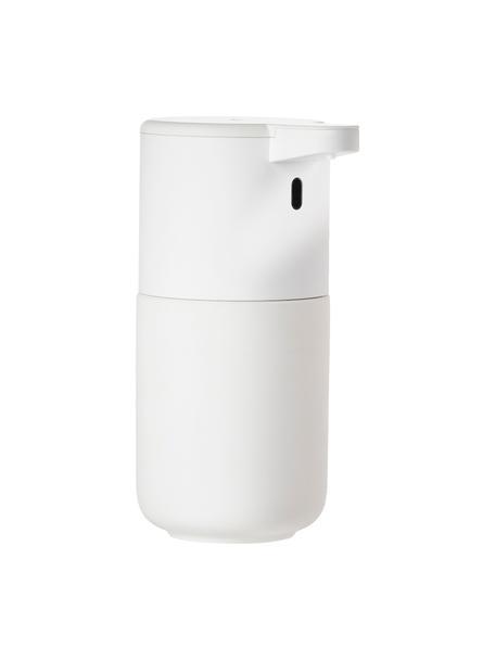 Dozownik do mydła z ceramiki z czujnikiem Ume, Kamionka, Biały, Ø 12 x W 17 cm