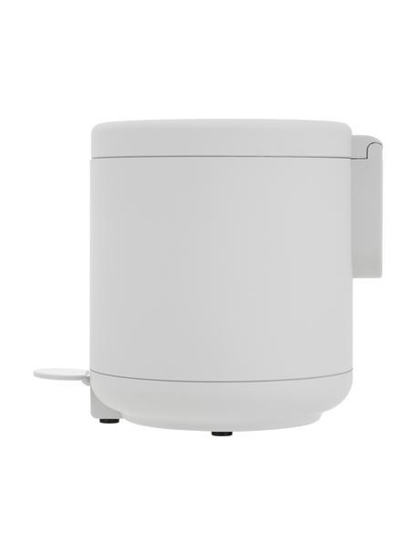 Pattumiera Ume con funzione a pedale, Plastica (ABS), Grigio chiaro, Ø 20 x Alt. 22 cm
