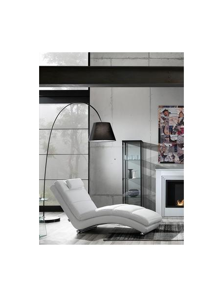 Sillón de cuero sintético Sofia, Estructura: madera, Tapizado: cuero sintético, Blanco, An 65 x Al 85 cm
