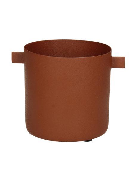 Portavaso di design Onyx, Metallo rivestito, Marrone, Larg. 12 x Alt. 9 cm