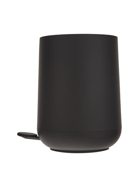 Prullenbak Nova met softmotion deksel, Kunststof, Zwart, Ø 23 x H 29 cm
