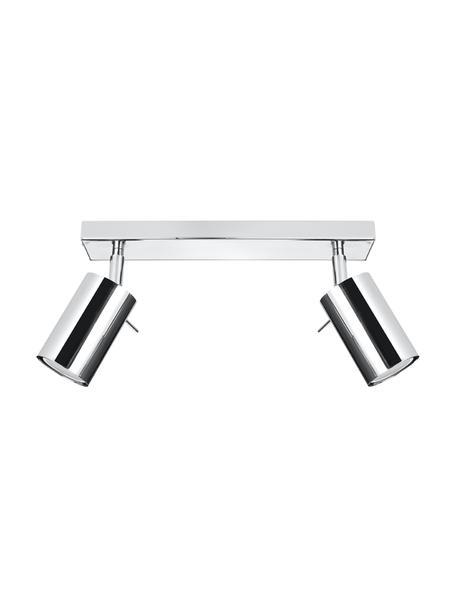 Riel Etna, Estructura: acero cromado, Anclaje: acero cromado, Cromo, An 30 x Al 15 cm