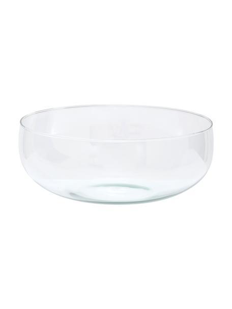 Kom Urban van gerecycled glas, Ø 28 cm, Gerecycled glas, Transparant, Ø 28 x H 11 cm