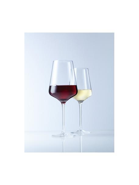 Kieliszek do czerwonego wina Puccini, 6 szt., Szkło kryształowe, Transparentny, Ø 11 x W 26 cm