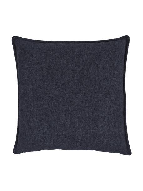 Poduszka Lennon, Tapicerka: 100% poliester, Niebieski, S 60 x D 60 cm