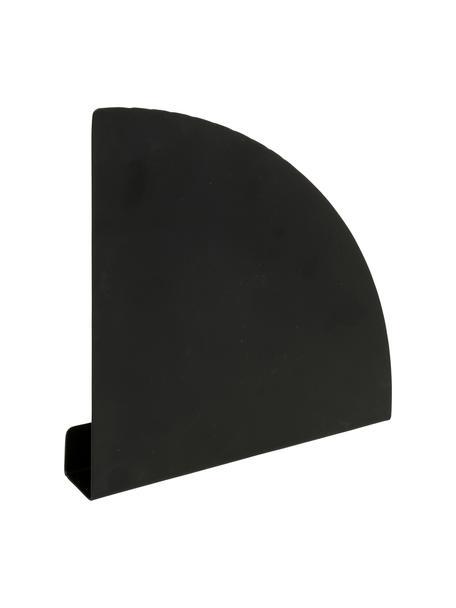 Ścienny stojak na czasopisma Archibald, Metal, Czarny, S 20 x W 20 cm