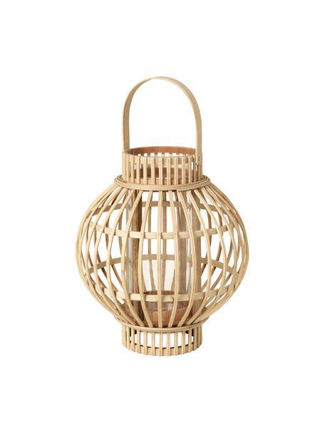 Lantaarn Gloria, Bamboe, Bruin, Ø 27 x H 31 cm