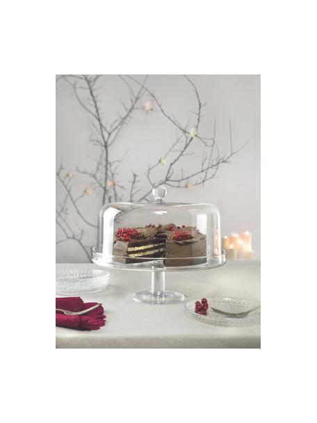 Alzatina in cristallo Maja, Cristallo Luxion, Trasparente, Ø 30 x A 25 cm
