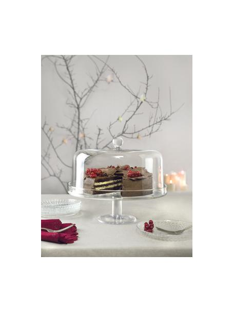 Fuente para poste de cristal Maja, Cristal Luxion, Transparente, Ø 30 x Al 25 cm