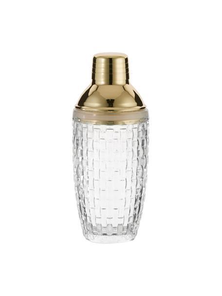 Coctelera Jolin, Transparente, dorado, Ø 9 x Al 22 cm