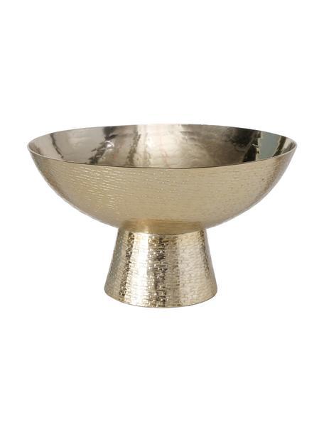 Miska dekoracyjna Iwaki, Aluminium powlekane, Odcienie mosiądzu, Ø 30 x W 18 cm