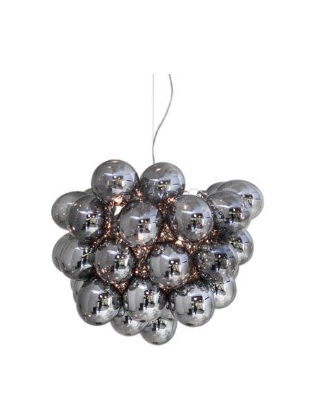 Lampa wisząca ze szkła Gross, Chrom, Ø 50 cm