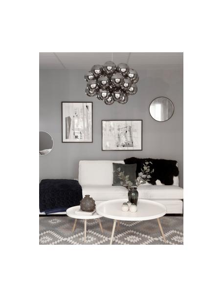 Hanglamp met glazen bollen Gross, Chroomkleurig, Ø 50 cm