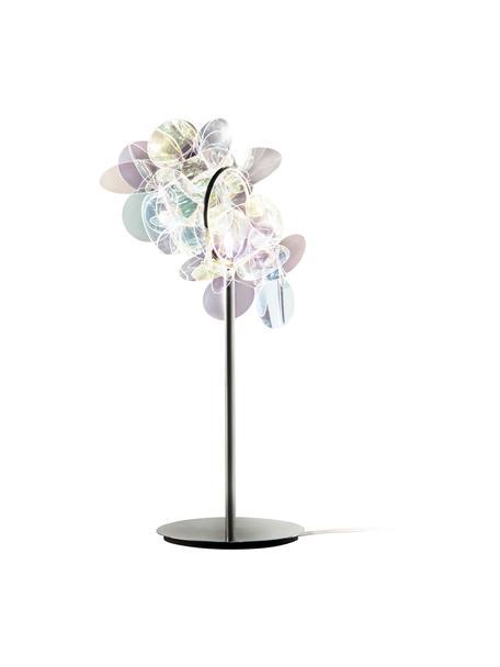 Design Tischlampe Mille Bolle, Lampenschirm: Technopolymer Cristalflex, Lampenfuß: Stahl, Mehrfarbig, 22 x 41 cm